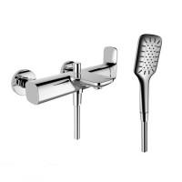 Смеситель для ванны LAUFEN CITYPLUS, с ручным душем, 3.2175.7.004.136.1