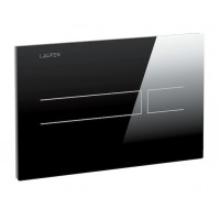 Смывная сенсорная клавиша для подвесного унитаза Laufen AW3, черная