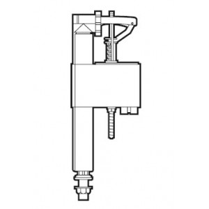 Наливная арматура для бачка унитаза ROCA