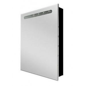 Зеркальный шкаф VICTORIA NORD BLACK EDITION, левый, 60см, ZRU9000098