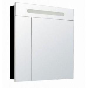 Зеркальный шкаф VICTORIA NORD BLACK EDITION, 80см, ZRU9000100