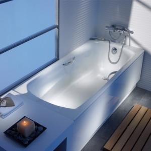 Стальная ванна ROCA SWING 180x80, 2200E0000+291109000+291021000