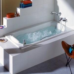 Чугунная ванна ROCA AKIRA 170 x 85, с ручкой и ножками, 2325G000R+526804010+150412330
