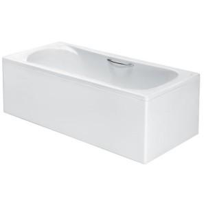 Акриловая ванна Roca Becool 190x90, с ручками, сливом и монтажным каркасом, ZRU9303020+ZRU9303021