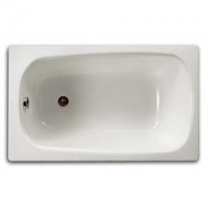 Чугунная ванна ROCA CONTINENTAL 100X70 с ножками, 211507001+150412330