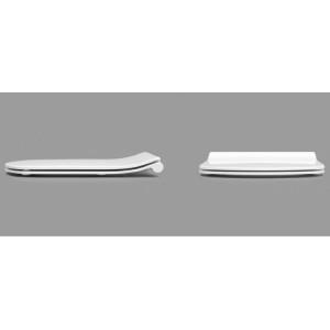 Подвесной унитаз Roca Dama Senso с тонким сидением, микролифт, 346517000+ZRU9302991