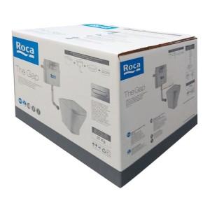 Комплект с приставным унитазом ROCA the GAP и скрытым бачком Basic, 893109000