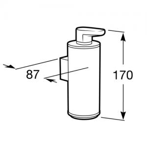 Настенный дозатор для мыла Roca Hotels 2.0, 816722001