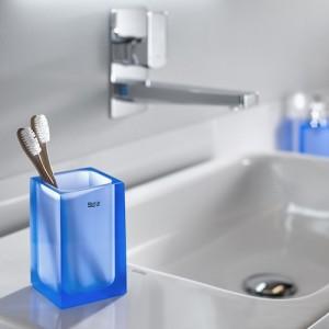 Настольный стакан Roca Ice, голубой, 816860013