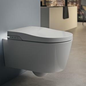 Комплект инсталляции,клавиша PL1 c подвесным унитазом  Roca In-Wash Inspira, микролифт, 803060001+890090800+890095001