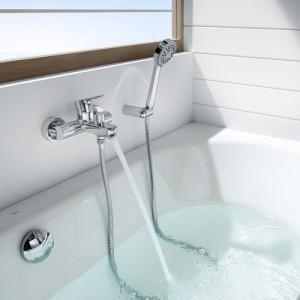 Смеситель для ванны ROCA L20 с душевым комплектом 5A0109C02