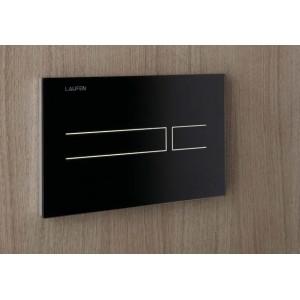 Комплект инсталляция, сенсорная клавиша LAUFEN AW3 ,подвесной безободковый унитаз LAUFEN PRO RIMLESS 2096.6 с сидением микролифт