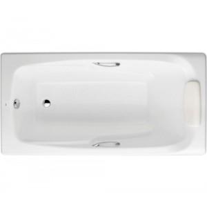 Чугунная ванна ROCA MING 170 x 85, с ручками и ножками, 2302G000R+291120001+150412330