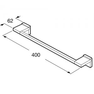 Настенный полотенцедержатель Roca Rubik, 40 см, 816846001