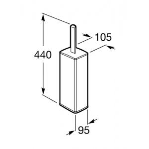 Настенный ершик Roca Select, 816305001