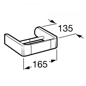 Держатель для туалетной бумаги Roca Select, 816307001