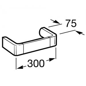 Полотенцедержатель Roca Select, 30см, 816309001