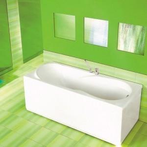 Акриловая ванна ROCA UNO 170x75, ZRU9302870+ZRU9302876