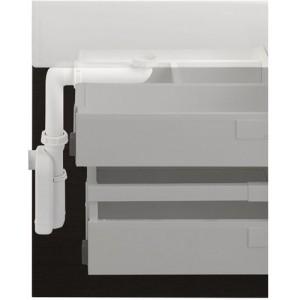 Тумба Laufen Case с раковиной Laufen Palace, белая, 120 см, 4.0130.1 + 8.1170.4