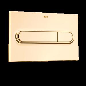 Золотая смывная клавиша для подвесного унитаза ROCA PRO PL1 WC 890095001 DO
