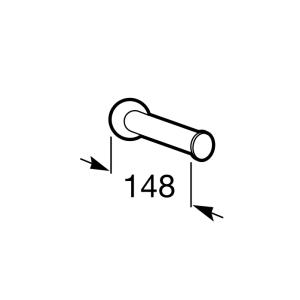 Держатель для запасного рулона Roca Superinox, 815684001
