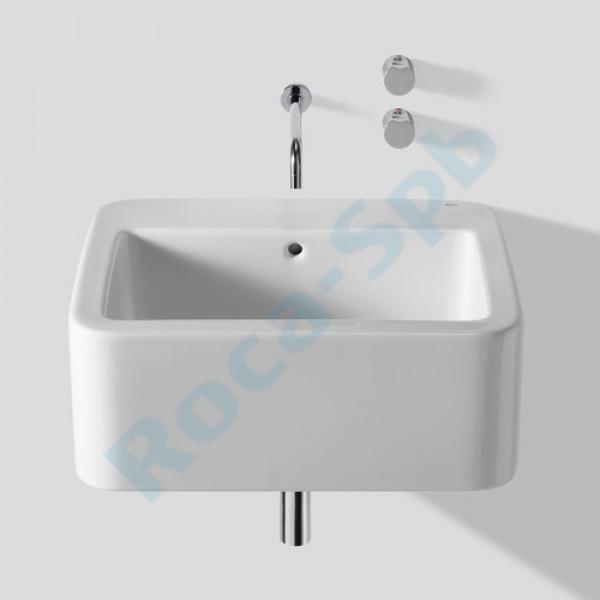 Раковина в ванную комнату без отверстия для смесителя купить Водяной полотенцесушитель Тругор М с полкой  хром М34/5060П