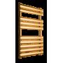 Полотенцесушитель водяной Prada Alfa 800х500 мм золото